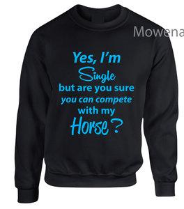 Sweater Yes I am single SP0129