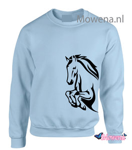 Sweater jumping horse SP0132