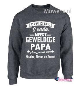 Sweater werelds meest geweldige papa LFDS 023 vk