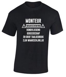 unisex t-shirt div. kleuren M003