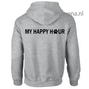 Vest My happy hour Hondenpootje DV0127