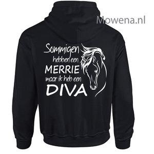 Vest Sommigen hebben een merrie maar ik een Diva PV0126