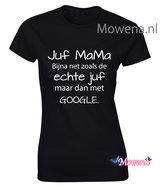 Juf-mama-dames-shirt-ztd136