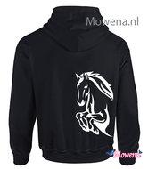 hoodie jumping horse PH0132