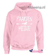 hoodie-paarden-meisje-met-pijl-PH0137