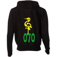 Zwart/geel/groen