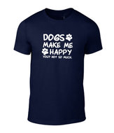Dogs-make-me-happy-unisex-shirt-div-kleuren