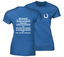 I-Beware-horses-damesshirt