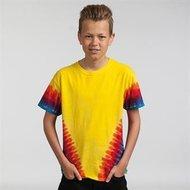 Unisex-kinder-T-shirt-TD05B-Regenboog-v-vorm