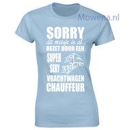 vrachtwagen chauffeur t-shirt