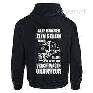 vrachtwagen chauffeur hoodie