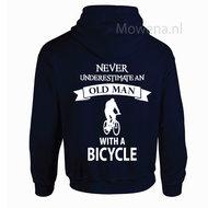 old man hoodie