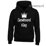 Kids-hoodie-snowboard-king-vk-opdruk-div-kleuren-KHW0068