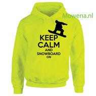 Keep-calm-and-snowboard-Hoodie-div.kleuren-H0067-vk