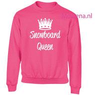 Kids-sweater-snowboard-queen-vk-opdruk-div-kleuren-KHW0069