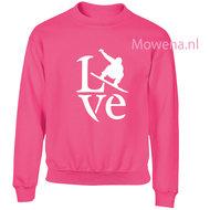 Kids-sweater-snowboarder-love-vk-opdruk-div-kleuren-KHW0071