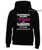 Prinses-als-paardrijdster-hoodie-2-kleuren-opdruk-voorkant-KH0088
