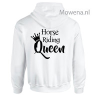 Hoodie-horse-riding-Queen-achterkant-div.kleuren-PH0091