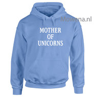 Hoodie-Mother-of-unicorns-div.kleuren-PH0067