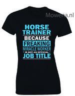 Damesshirt-horsetrainer-job-title-2-kleuren-ptd095