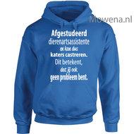 Dierenarts-assistente-hoodie-vk--DA002