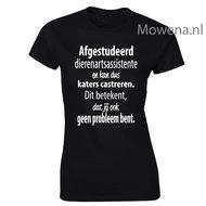 Dierenarts-assistente-Damesshirt-vk-div.kleuren-DA003