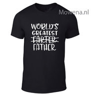 World-greatest-farter-father-t-shirt-div.kleuren-T0076