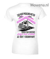 Chauffeuse-vrachtwagen-Dames-2-kleuren-zoek-nooit-problemen-vw005