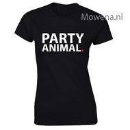 Party animal dames shirt div. kleuren LFD007
