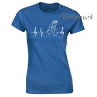Hartslag-Paard-hond-poes--Dames-shirt-div.kleuren-ptd101