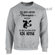 sweater-geen-therapie-nodig-ik-heb-alleen-mijn-koe-nodig-BOER003