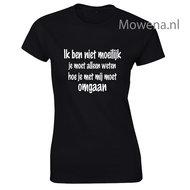 Ik-ben-niet-moeilijk-dames-shirt-LFD014