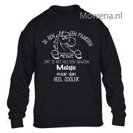 Paardenmeisje-Sweater-opdruk-voorkant-KH0092