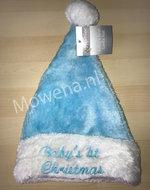 Blauwe-Babys-1st-Christmas-muts