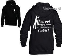 Hoodie-ruiter-pas-op-koppig-paard-kids-KH0096