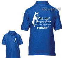 Pas-op-koppig-paard-ruiter-kids-Polo-KPP0096