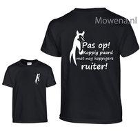 Pas-op-koppig-paard-ruiter-shirt-kids-KTP0096