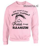 Sweater-wat-moet-ik-met-glazen-muiltjes-deze-prinses-draagt-paardrijlaarzen-SP120
