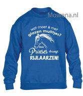 Kids-Sweater-glazen-muiltjes-deze-prinses-draagt-paardrijlaarzen-vk-KH0098