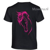 BF-Kids-maat--5-6-jaar-zwart-t-shirt-fluor-roze-achterkant