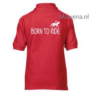 BF-Kids-maat-XS-4-5-jaar-rood-Polo-born-to-ride