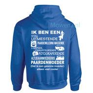 BF-Maat-xl-royal-bleu-paardenMoeder-Hoodie
